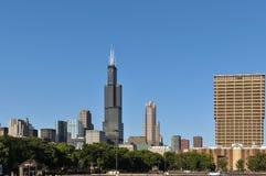 Wolkenkrabbers van Chicago, Illinois Royalty-vrije Stock Foto