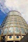 Wolkenkrabbers van MIBC, Moskou, Rusland Stock Fotografie