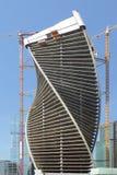 Wolkenkrabbers van MIBC in Moskou, Rusland Stock Foto's