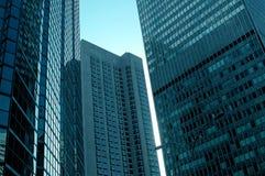 Wolkenkrabbers van Montreal Royalty-vrije Stock Afbeeldingen