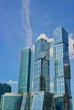 Wolkenkrabbers van Moskou Royalty-vrije Stock Afbeeldingen