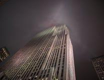 Wolkenkrabbers van New York Stock Afbeeldingen