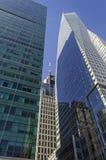 Wolkenkrabbers van New York Royalty-vrije Stock Foto's