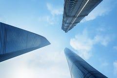 Wolkenkrabbers van Shanghai Royalty-vrije Stock Afbeelding