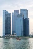 Wolkenkrabbers van Singapore Royalty-vrije Stock Fotografie