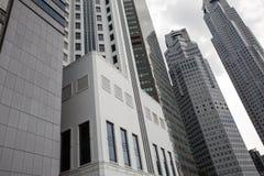 Wolkenkrabbers van Singapore Royalty-vrije Stock Afbeelding