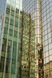 Wolkenkrabbers in Vancouver Stock Foto's