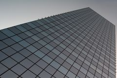 Wolkenkratzer 1 lizenzfreie stockfotos