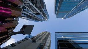 Wolkenkratzer stock footage