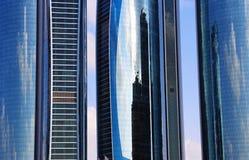 Wolkenkratzer in Abu Dhabi, Vereinigte Arabische Emirate Lizenzfreie Stockfotos