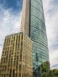 Wolkenkratzer auf Reforma-Straße, Mexiko City, Mexiko Lizenzfreie Stockfotografie