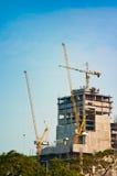 Wolkenkratzer-Bau Lizenzfreie Stockbilder