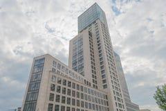 Wolkenkratzer in Berlin Lizenzfreie Stockfotos