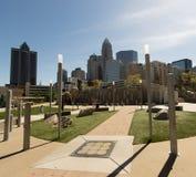 Wolkenkratzer in Charlotte, NC Stockfotografie