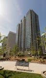 Wolkenkratzer in Charlotte, NC Lizenzfreies Stockfoto