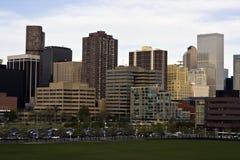 Wolkenkratzer in Denver Lizenzfreie Stockbilder