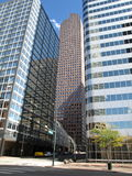 Wolkenkratzer - Denver Stockbilder