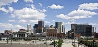 Wolkenkratzer in Denver Lizenzfreies Stockfoto