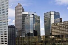 Wolkenkratzer in Denver Lizenzfreies Stockbild