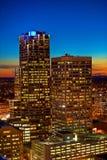 Moderne Stadt-Wolkenkratzer Stockfoto