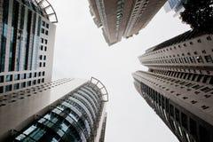 Wolkenkratzer der Großstadt Kuala Lumpur Stockfotografie