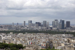 Wolkenkratzer der La-Verteidigung Lizenzfreie Stockfotos