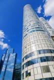 Wolkenkratzer in der La-Verteidigung, Paris, Frankreich Stockfotos
