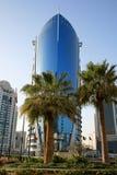Wolkenkratzer in Doha, Qatar Stockbild