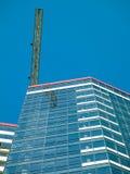 Wolkenkratzer in Donetsk stockfoto