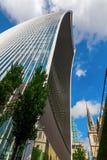 Wolkenkratzer 20 Fenchurch-Straße in London, Großbritannien Stockfotografie