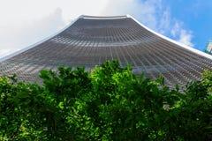 Wolkenkratzer 20 Fenchurch-Straße in London, Großbritannien Lizenzfreies Stockfoto