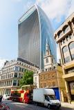 Wolkenkratzer 20 Fenchurch-Straße in London, Großbritannien Lizenzfreie Stockfotografie
