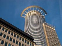 Wolkenkratzer in Frankfurt Stockfotos