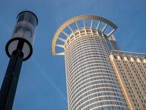 Wolkenkratzer in Frankfurt Stockbild