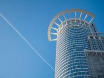 Wolkenkratzer in Frankfurt Stockfoto