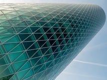 Wolkenkratzer in Frankfurt Stockfotografie
