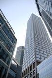 Wolkenkratzer in Frankfurt-am-Main Stockfotografie