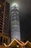 Wolkenkratzer in Hong Kong Stockfoto