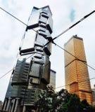 Wolkenkratzer in Hong Kong lizenzfreie stockfotografie