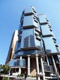 Wolkenkratzer im Admiralitäts-Bezirk von Hong Kong Lizenzfreies Stockfoto