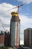 Wolkenkratzer im Bau lizenzfreies stockbild