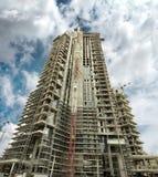 Wolkenkratzer im Bau Lizenzfreie Stockfotos