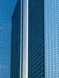 Wolkenkratzer im Finanzbezirk von Frankfurt, Deutschland Stockbild