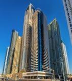 Wolkenkratzer im höchsten der Turm-Block der Welt Lizenzfreies Stockfoto