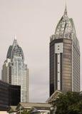 Wolkenkratzer im Mobile Lizenzfreie Stockfotografie