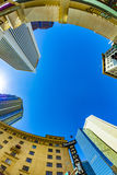 Wolkenkratzer im Stadtzentrum gelegenes Phoenix, Arizona Lizenzfreie Stockfotografie