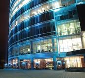 Wolkenkratzer innen in die Stadt Lizenzfreies Stockfoto