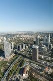 Wolkenkratzer in Levent, Istanbul - die Türkei Stockbilder