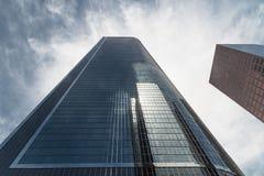 Wolkenkratzer in Los Angeles lizenzfreie stockbilder