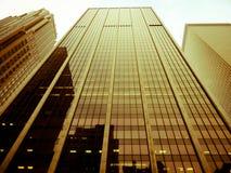 Wolkenkratzer in Manhattan, NYC stockfotos